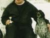 Jouni and his dog Romanov, who was a huntingchampion