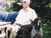 Two fresh veterans! \'Geggen\' Johanssen, wellknown breeder, judge and GSP friend from Norway and \'Wilma\'